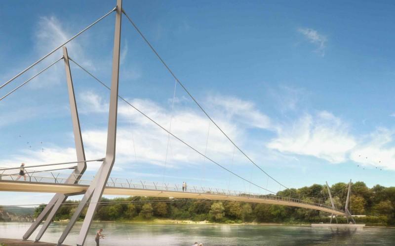 B6 – Des ponts-sculpture à l'aide de bois massifs collés