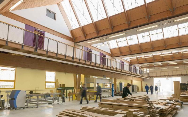 C2- Halle Bois Eco-Construction à Cluny
